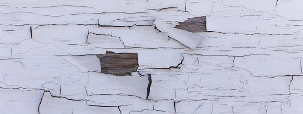 Lead paint peeling